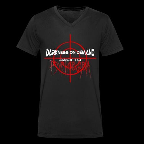 DoD Back to Psychoburbia - Männer Bio-T-Shirt mit V-Ausschnitt von Stanley & Stella