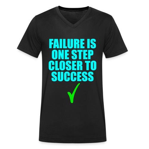 Erfolg erfolgreich Gewinner Geschenk - Männer Bio-T-Shirt mit V-Ausschnitt von Stanley & Stella