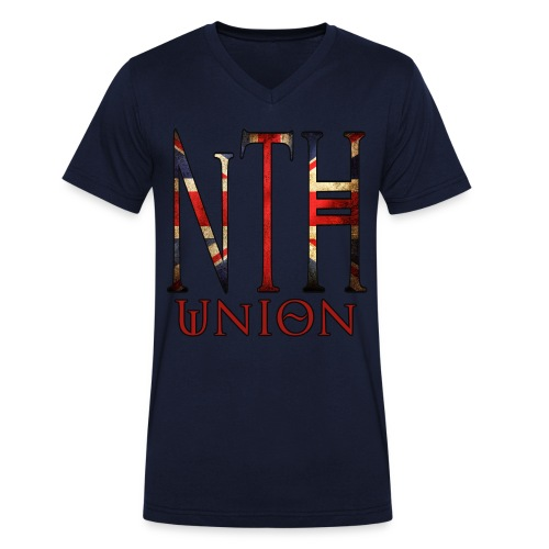 Nth Union - Men's Organic V-Neck T-Shirt by Stanley & Stella