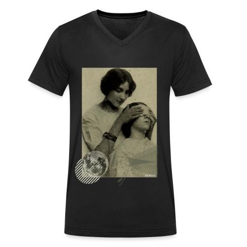 Lune aveugle - T-shirt bio col V Stanley & Stella Homme