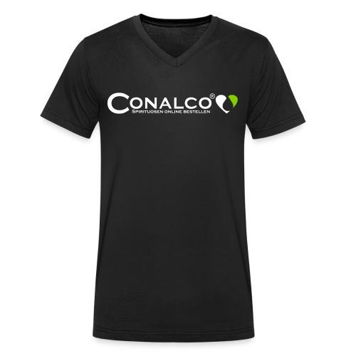 conalco_logo_vektor - Männer Bio-T-Shirt mit V-Ausschnitt von Stanley & Stella