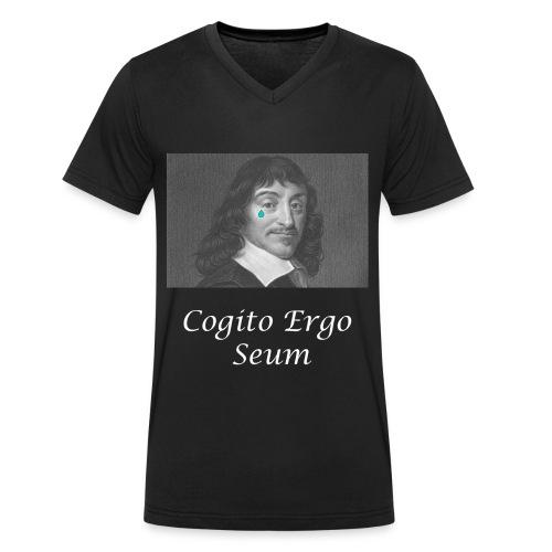 Cogito Ergo Seum - T-shirt bio col V Stanley & Stella Homme