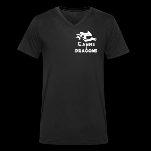 logoC D N B - T-shirt bio col V Stanley & Stella Homme