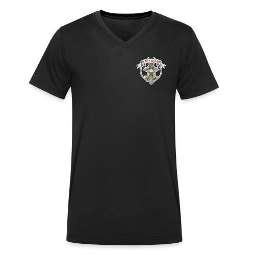 Crazy Bunch - Männer Bio-T-Shirt mit V-Ausschnitt von Stanley & Stella