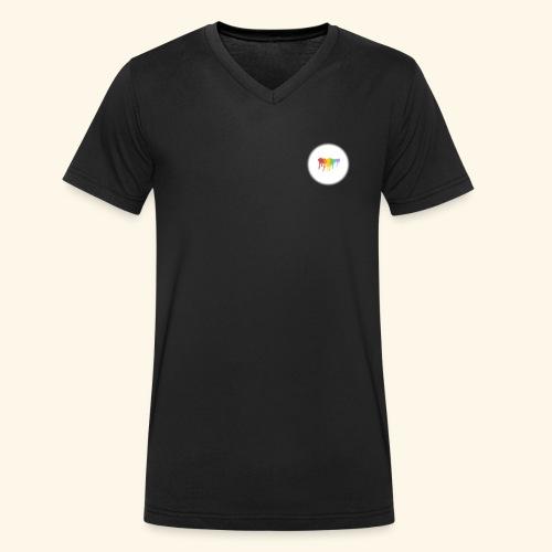 LGBTQ - Mannen bio T-shirt met V-hals van Stanley & Stella