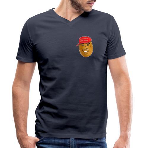 Potato - T-shirt bio col V Stanley & Stella Homme
