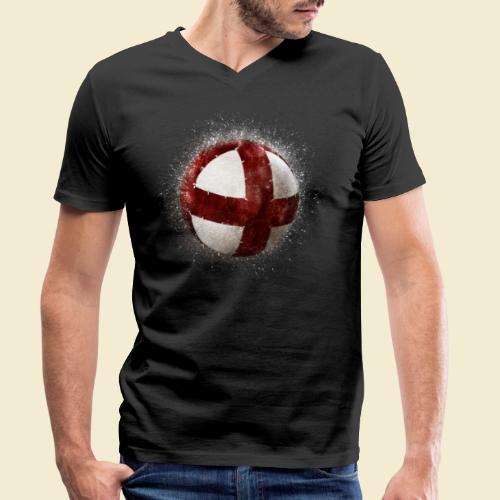 Radball | Cycleball - Männer Bio-T-Shirt mit V-Ausschnitt von Stanley & Stella