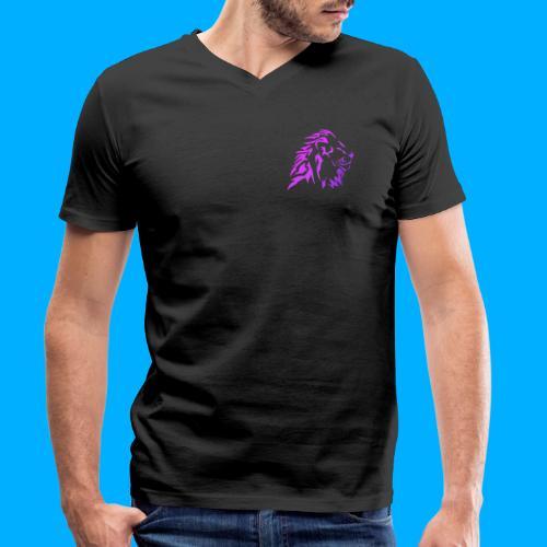 _21st_ Logo - Men's Organic V-Neck T-Shirt by Stanley & Stella
