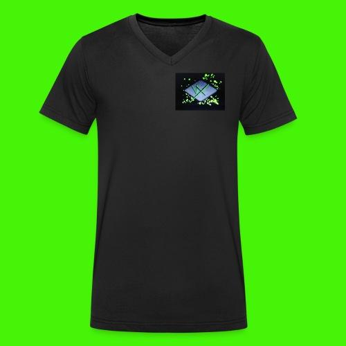 vX - Men's Organic V-Neck T-Shirt by Stanley & Stella