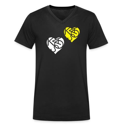 Love the Chaos - Männer Bio-T-Shirt mit V-Ausschnitt von Stanley & Stella