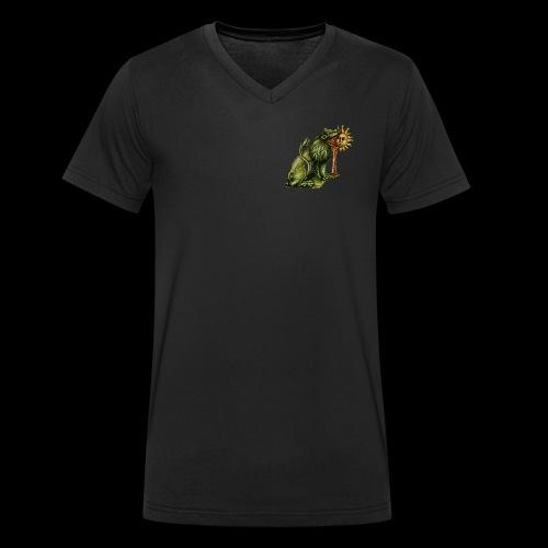 Sulfur - T-shirt ecologica da uomo con scollo a V di Stanley & Stella