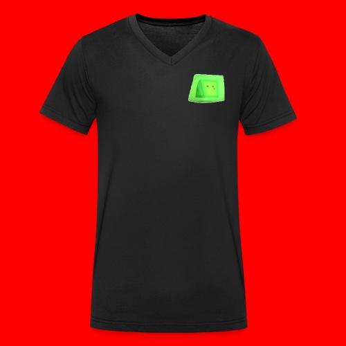 Squishy! - Men's Organic V-Neck T-Shirt by Stanley & Stella