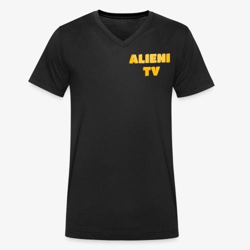 AlieniTv T-Shirt - Men's Organic V-Neck T-Shirt by Stanley & Stella