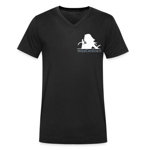 missCorsica 2B - T-shirt bio col V Stanley & Stella Homme