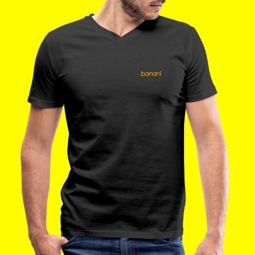Banani-Schriftzug - Männer Bio-T-Shirt mit V-Ausschnitt von Stanley & Stella