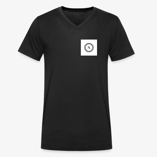 Mah Logo - Men's Organic V-Neck T-Shirt by Stanley & Stella