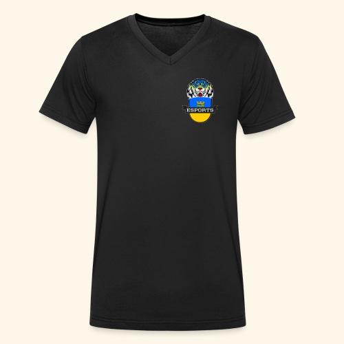 Logo Neu - Männer Bio-T-Shirt mit V-Ausschnitt von Stanley & Stella