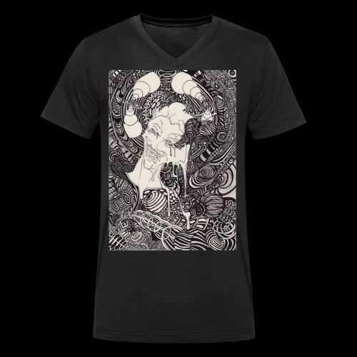 data fusion - Männer Bio-T-Shirt mit V-Ausschnitt von Stanley & Stella