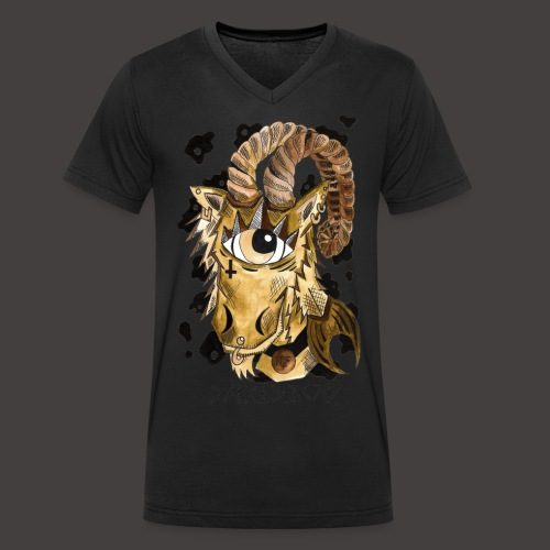 capricorne original - T-shirt bio col V Stanley & Stella Homme
