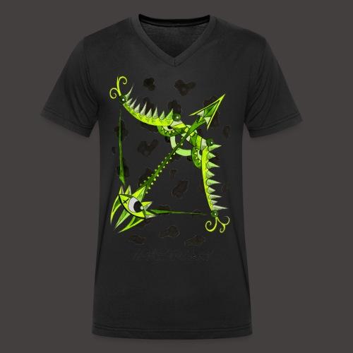 Sagittaire original - T-shirt bio col V Stanley & Stella Homme