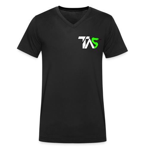 TAS loggan - Ekologisk T-shirt med V-ringning herr från Stanley & Stella