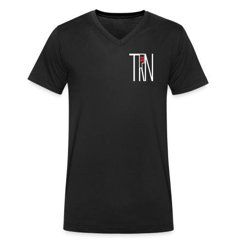 TRN Clothing - Männer Bio-T-Shirt mit V-Ausschnitt von Stanley & Stella