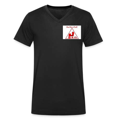 Ddaprod logo 2018 - T-shirt bio col V Stanley & Stella Homme