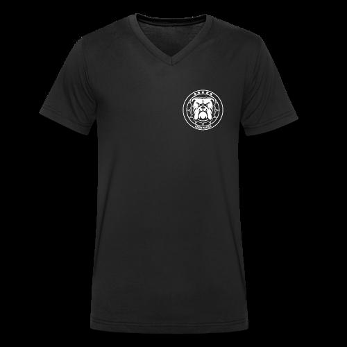 ANGRYDOGS CLASSIC - T-shirt ecologica da uomo con scollo a V di Stanley & Stella