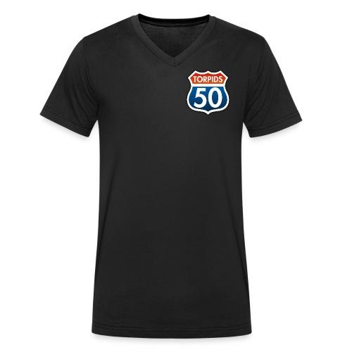 Torpids_50 - Männer Bio-T-Shirt mit V-Ausschnitt von Stanley & Stella