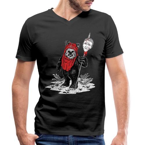 Weg mit Dreck - Männer Bio-T-Shirt mit V-Ausschnitt von Stanley & Stella