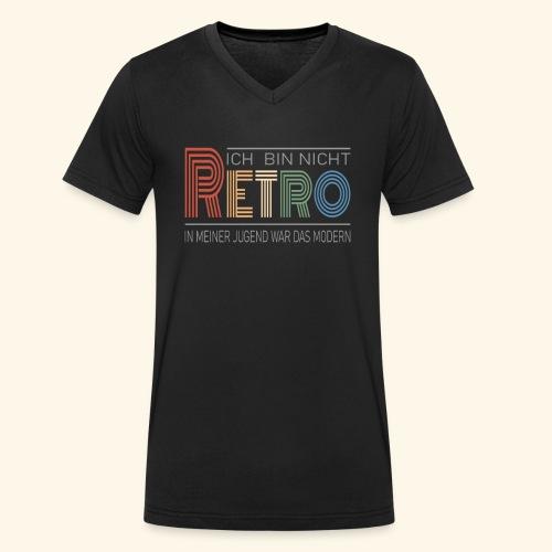 Ich bin nicht Retro Geschenk Geburtstag vintage - Männer Bio-T-Shirt mit V-Ausschnitt von Stanley & Stella
