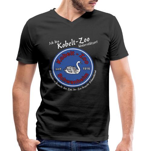 Highlanders Kobelt-Zoo Benefiz Shirt - Schwan - Männer Bio-T-Shirt mit V-Ausschnitt von Stanley & Stella