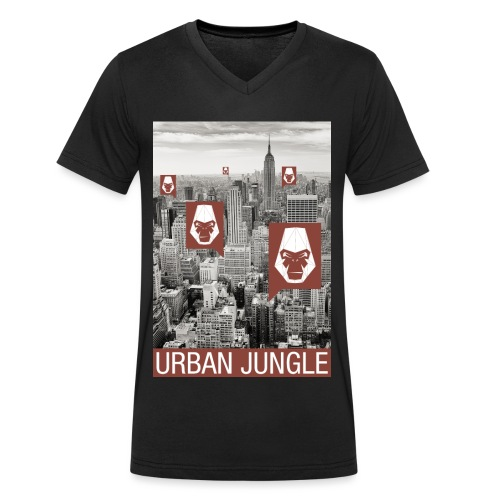 Urban Jungle UG - Men's Organic V-Neck T-Shirt by Stanley & Stella