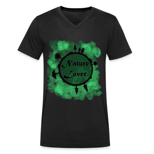 Naturliebhaber - Männer Bio-T-Shirt mit V-Ausschnitt von Stanley & Stella