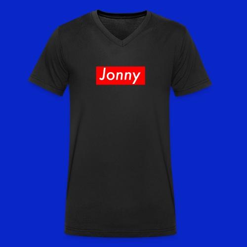Jonny - Men's Organic V-Neck T-Shirt by Stanley & Stella