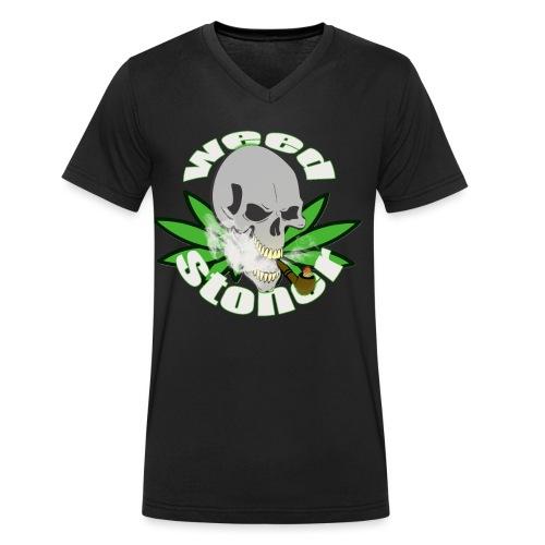 weed stoner - T-shirt bio col V Stanley & Stella Homme