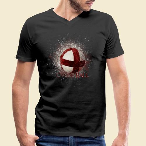 Radball   Cycle Ball - Männer Bio-T-Shirt mit V-Ausschnitt von Stanley & Stella