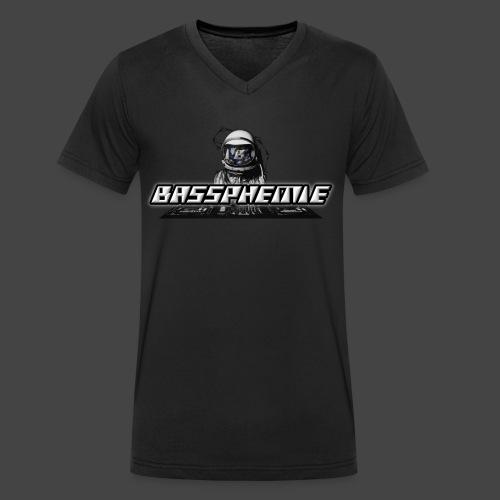 Bassphemie - Bassphemie Logo - Männer Bio-T-Shirt mit V-Ausschnitt von Stanley & Stella