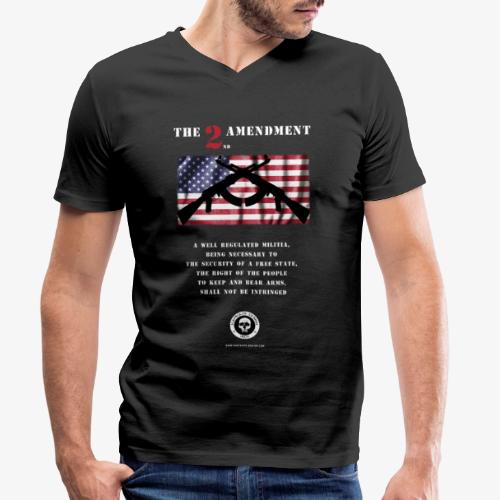2nd Amendment - Männer Bio-T-Shirt mit V-Ausschnitt von Stanley & Stella