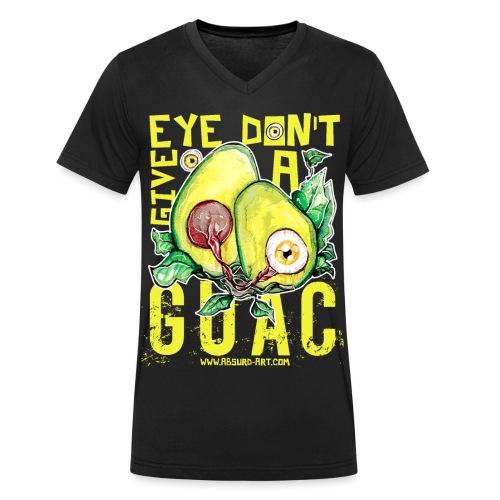 Eye don't give a Guac, von Absurd ART - Männer Bio-T-Shirt mit V-Ausschnitt von Stanley & Stella