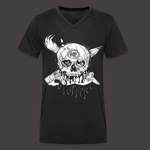 CRANE OF GU - T-shirt bio col V Stanley & Stella Homme