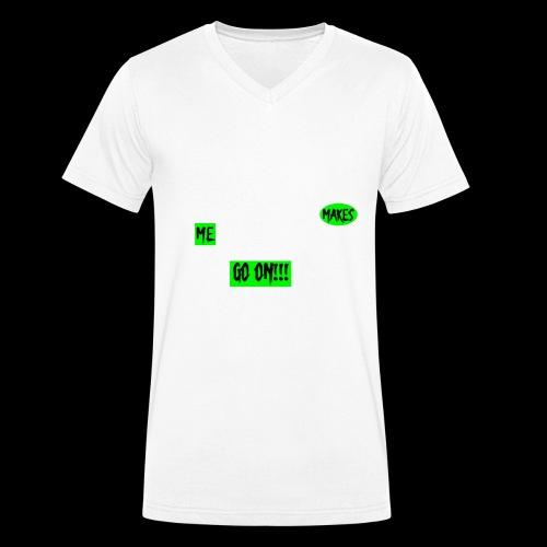 CRITICA 2 - Camiseta ecológica hombre con cuello de pico de Stanley & Stella
