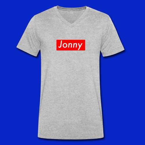 Jonny - Men's Organic V-Neck T-Shirt by Stanley & Stella