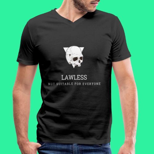 LAWLESS - Männer Bio-T-Shirt mit V-Ausschnitt von Stanley & Stella