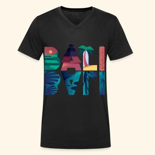 Bali Indonesien Insel Tropisches Paradies Ferien - Männer Bio-T-Shirt mit V-Ausschnitt von Stanley & Stella