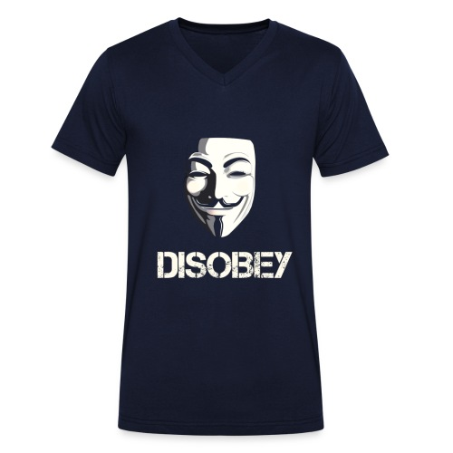Anonymous Disobey gif - Stanley & Stellan miesten luomupikeepaita