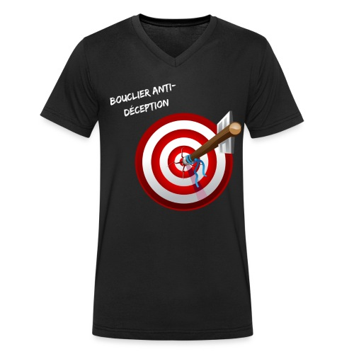 Bouclier anti-déception - T-shirt bio col V Stanley & Stella Homme