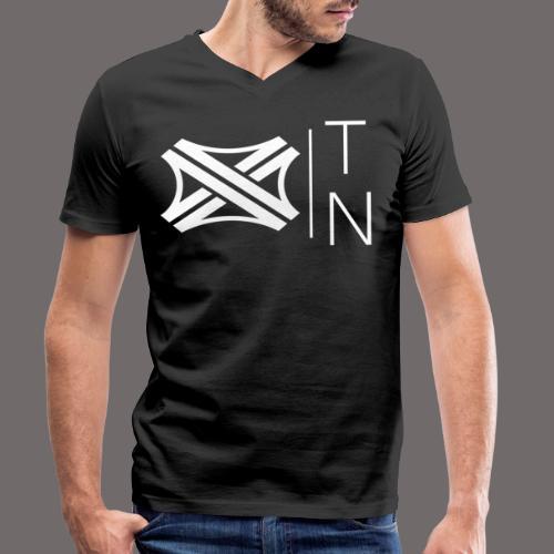 Tregion logo Small - Men's Organic V-Neck T-Shirt by Stanley & Stella
