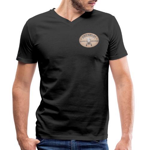 Summerby Saloon - Männer Bio-T-Shirt mit V-Ausschnitt von Stanley & Stella