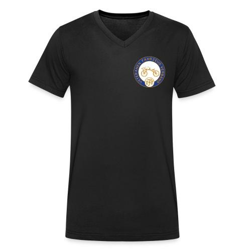 VFV Weiß - Männer Bio-T-Shirt mit V-Ausschnitt von Stanley & Stella